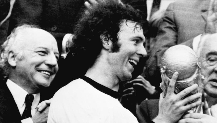 WORLD CUP-1974-BECKENBAUER