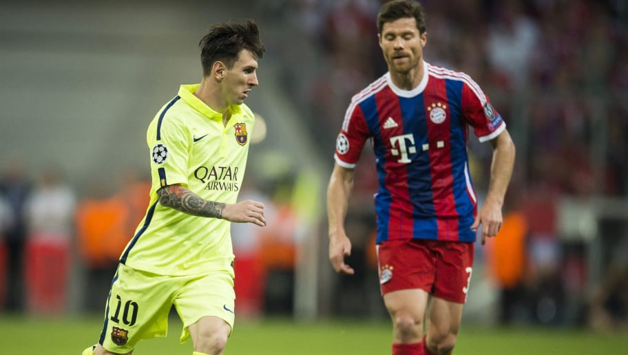 Xabi Alonso Explains Why It Was So Difficult to Defend Lionel Messi When He Played False Nine