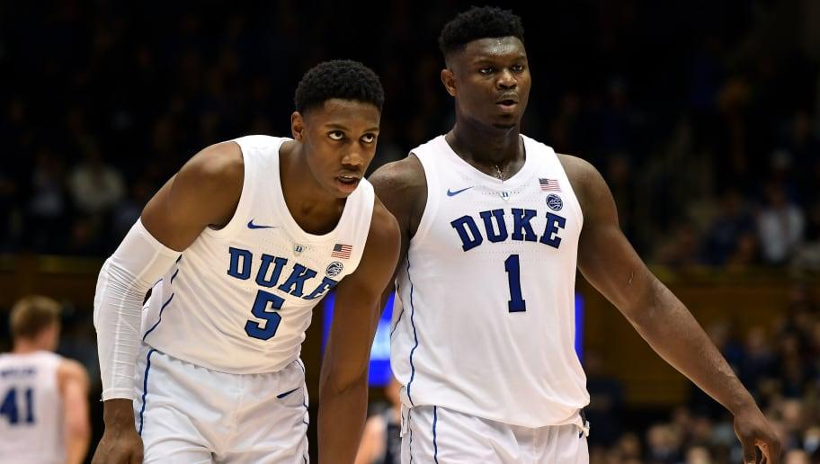 b970b63e0353 Blind Comparison  R.J. Barrett and Zion Williamson for No. 1 Pick in 2019  NBA Draft