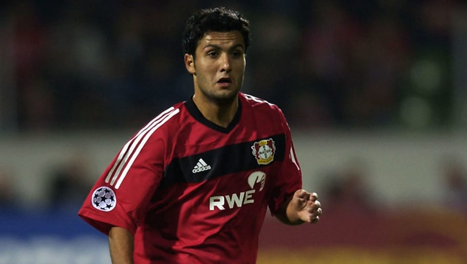 Yildiray Basturk of Bayer Leverkusen
