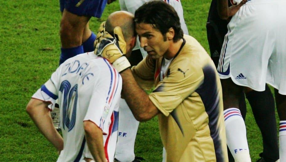Gianluigi Buffon,Zinedine Zidane