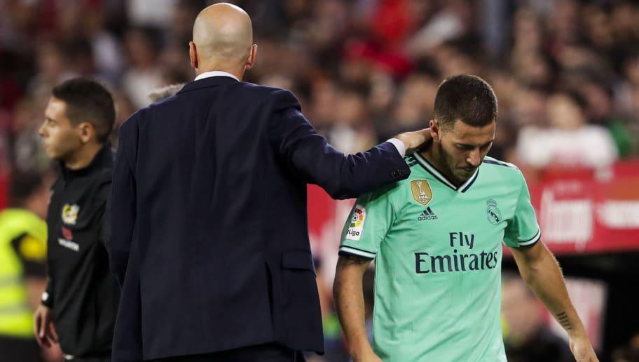 Eden Hazard Reveals Zinedine Zidane Told Him to be Happy at Real Madrid During Initial Months