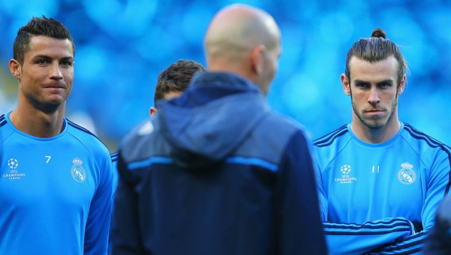 Gareth Bale,Cristiano Ronaldo,Zinedine Zidane