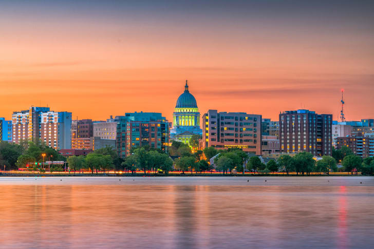 A view of Madison, Wisconsin