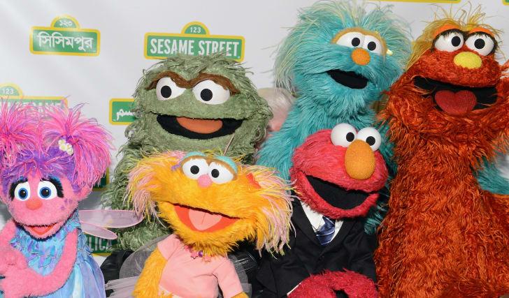 Sesame Street Muppets.