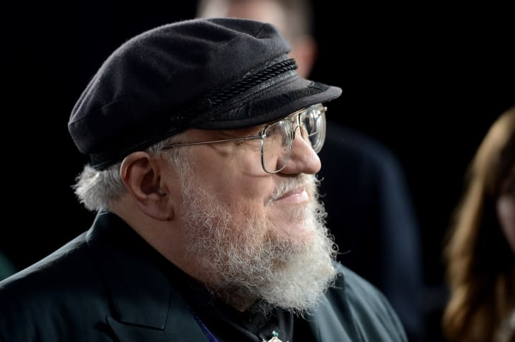 Co-Executive Producer George R.R. Martin arrives at the premiere of HBO's 'Game Of Thrones' Season 3 at TCL Chinese Theatre on March 18, 2013 in Hollywood, California