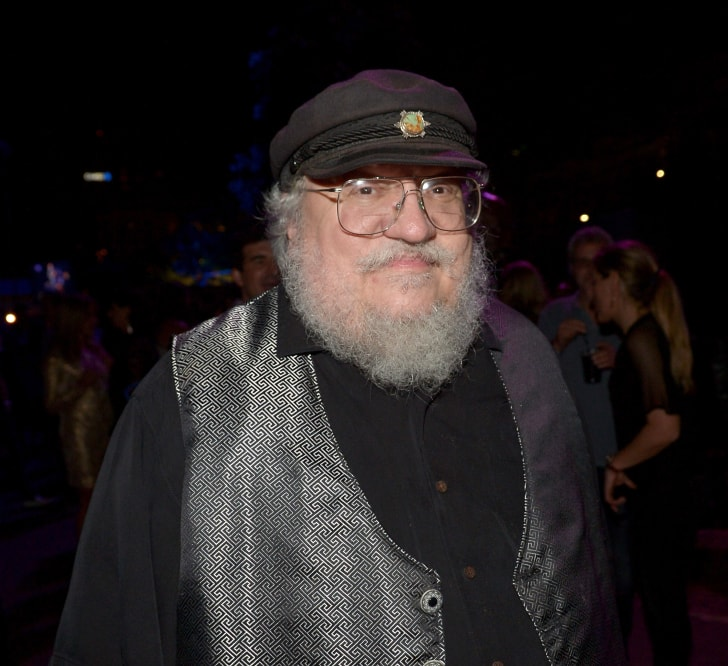 "Novelist George R.R. Martin attends the Playboy and A&E ""Bates Motel"" Event During Comic-Con Weekend, on July 25, 2014 in San Diego, California"