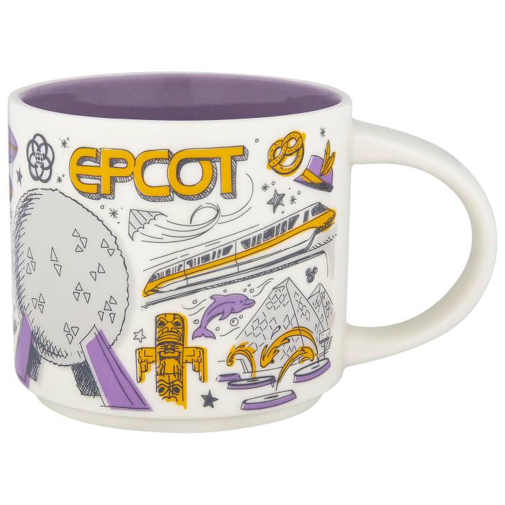 An Epcot mug