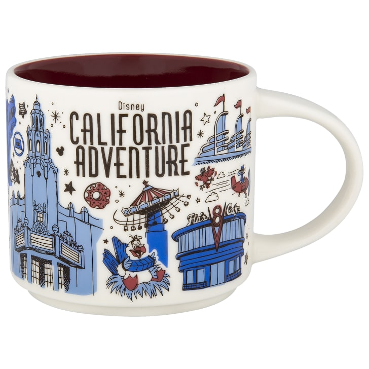 A California Adventure mug
