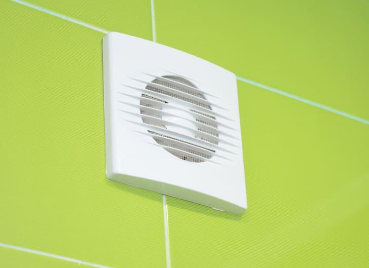 a bathroom vent