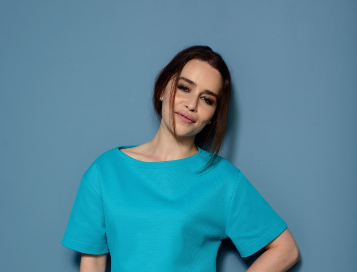 Actress Emilia Clarke of 'Don Hemingway' poses at the Guess Portrait Studio during 2013 Toronto International Film Festival on September 9, 2013 in Toronto, Canada
