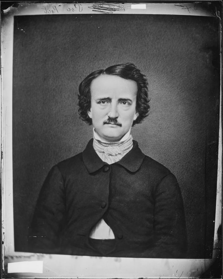 A portrait of Edgar Allan Poe