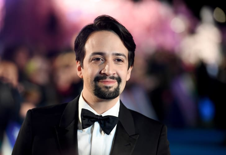 A photo of Lin-Manuel Miranda at an event for Mary Poppins Returns.