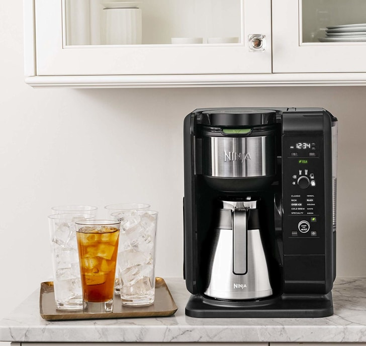 The Ninja Hot & Cold Brewed System on a countertop