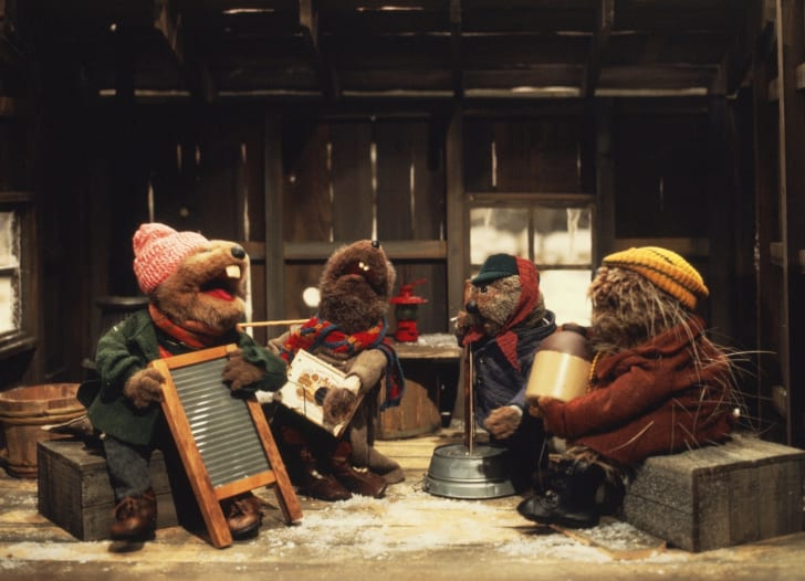 A still from 'Emmet Otter's Jug-Band Christmas' (1977)