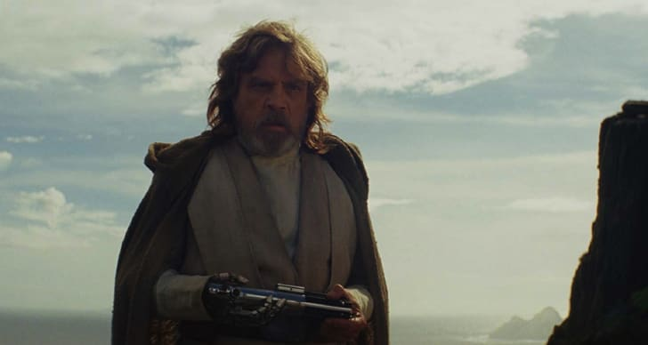 Mark Hamill in 'Star Wars: Episode VIII - The Last Jedi' (2017)