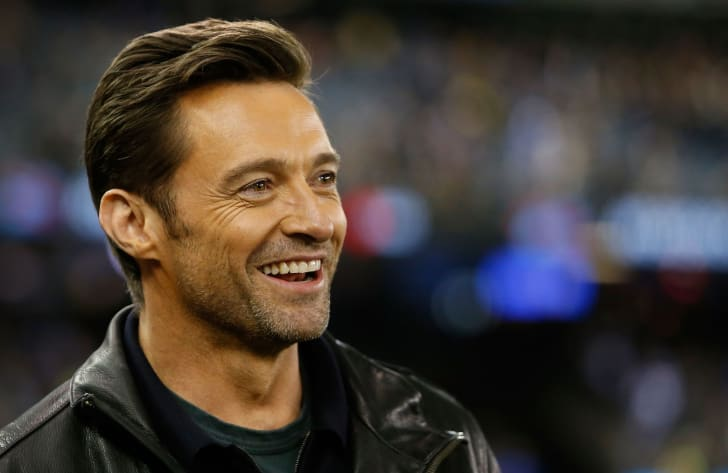 Hugh Jackman in Melbourne, Australia on September 4, 2015