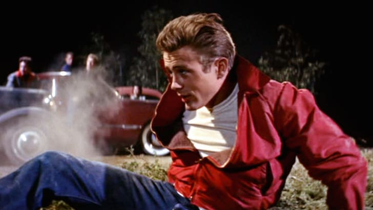 James Dean in 'Rebel Without a Cause' (1955)