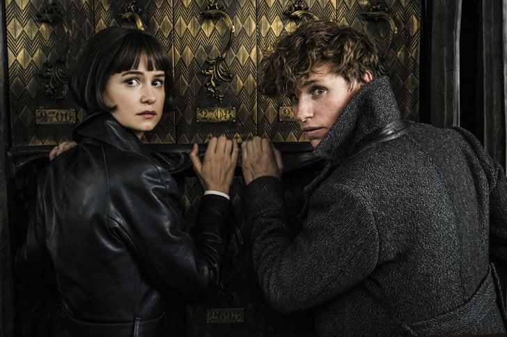 Eddie Redmayne and Katherine Waterston in 'Fantastic Beasts: The Crimes of Grindelwald' (2018)