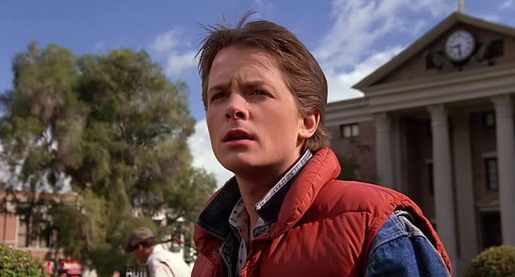 Michael J. Fox in 'Back to the Future' (1985)