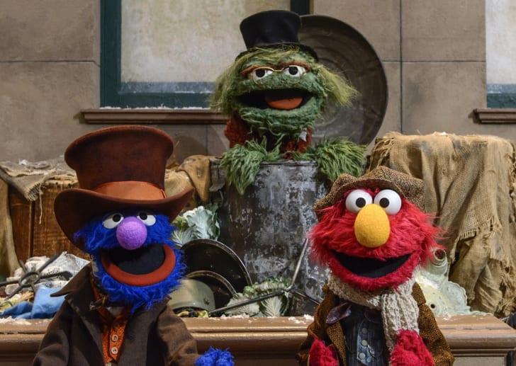 A scene from 'Sesame Street'