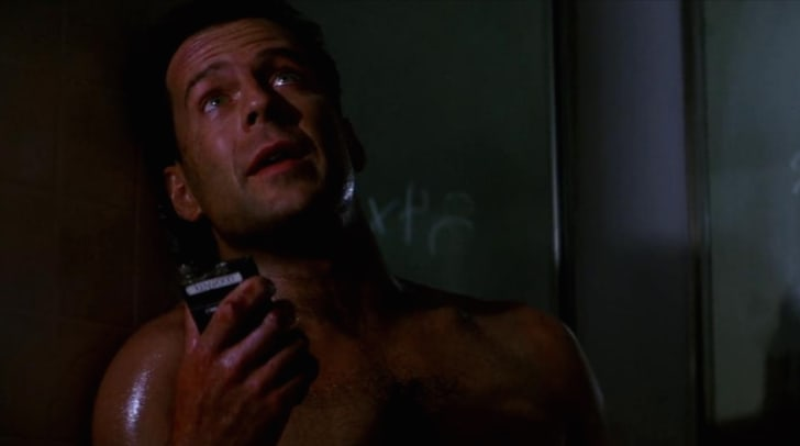 Bruce Willis stars in 'Die Hard' (1988)