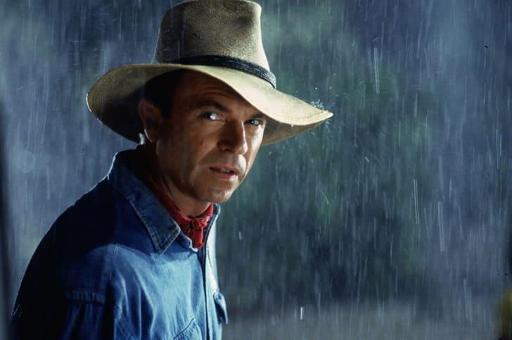 Sam Neill in 'Jurassic Park' (1993)
