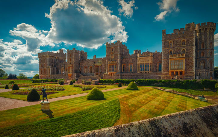 A photo of Windsor Castle