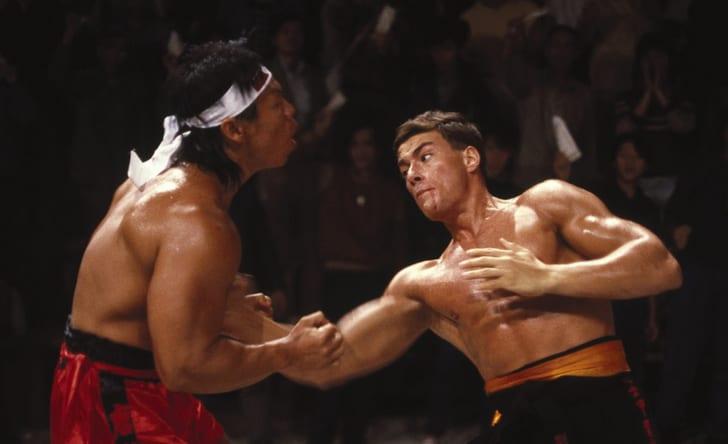 Jean-Claude Van Damme in 'Bloodsport' (1988)