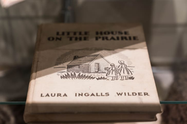 Little House on the Prairie Book at the Laura Ingalls Wilder Museum in Pepin, Wisconsin