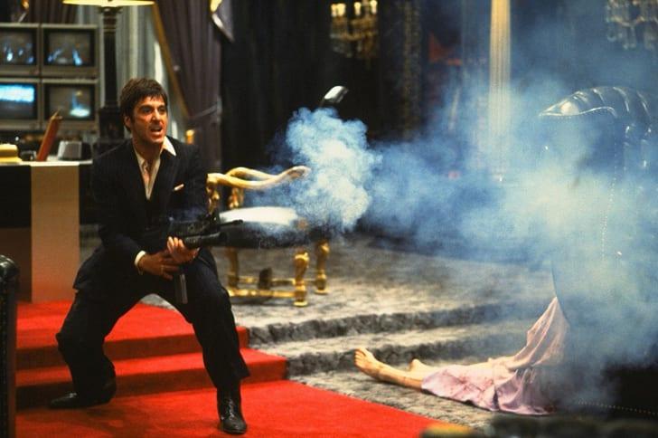 Still of Al Pacino as Tony Montana in 'Scarface' (1983)
