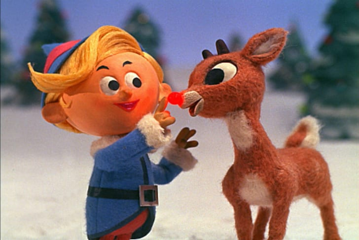 A scene from 'Rudolph the Red-Nosed Reindeer' (1964)