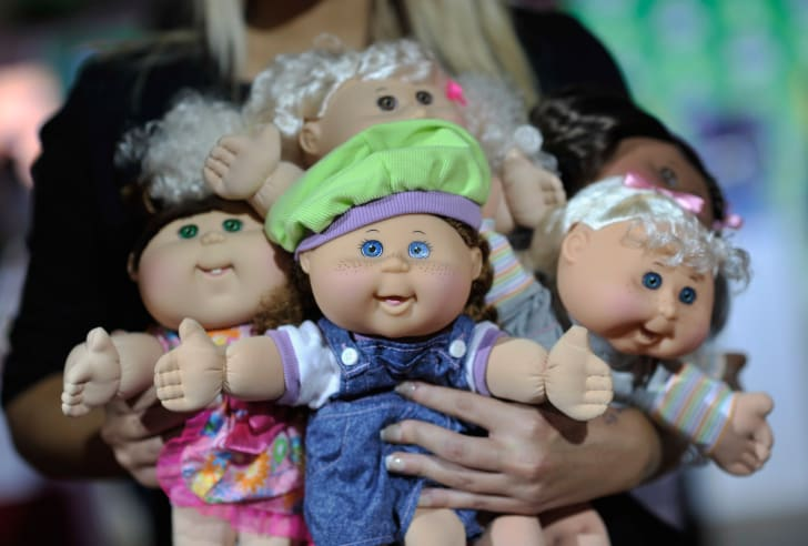 Photo of Cabbage Patch Kid dolls