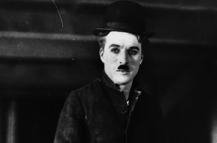 A photo of Charlie Chaplin