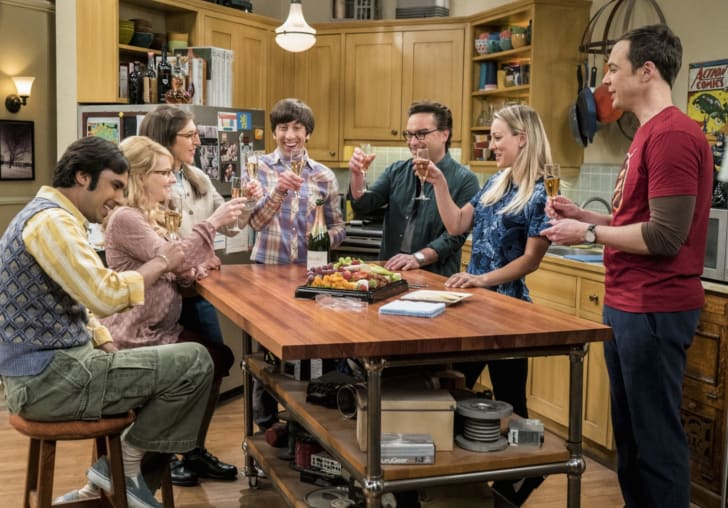 A still from the CBS series 'The Big Bang Theory.'