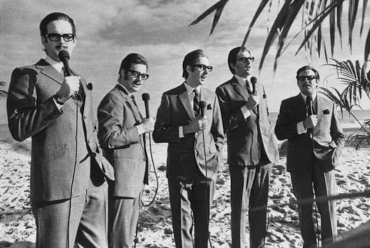 The creators of Monty Python's Flying Circus