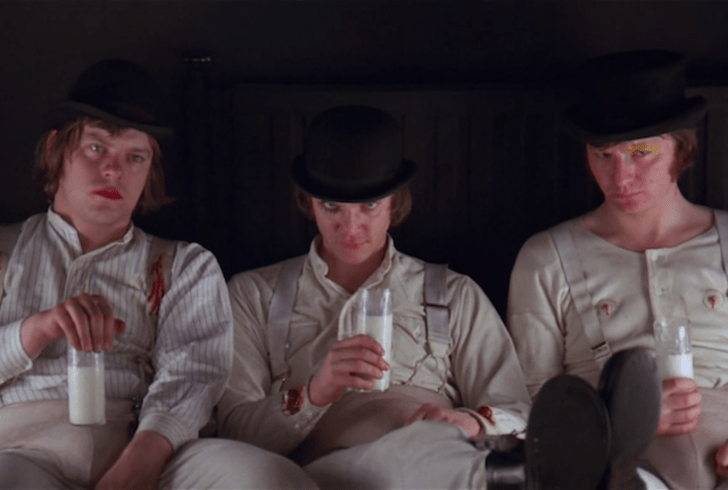 A scene from 'A Clockwork Orange' (1971)