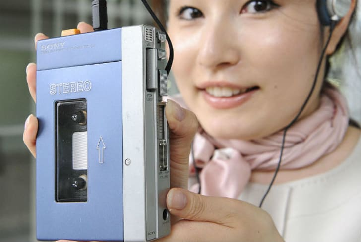 The Sony Walkman