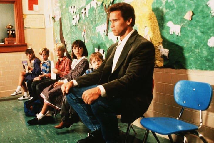 Arnold Schwarzenegger in 'Kindergarten Cop'