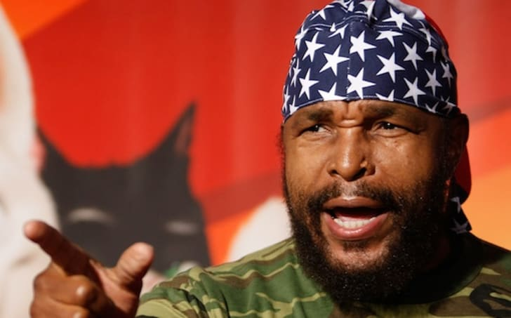 A photo of Mr. T