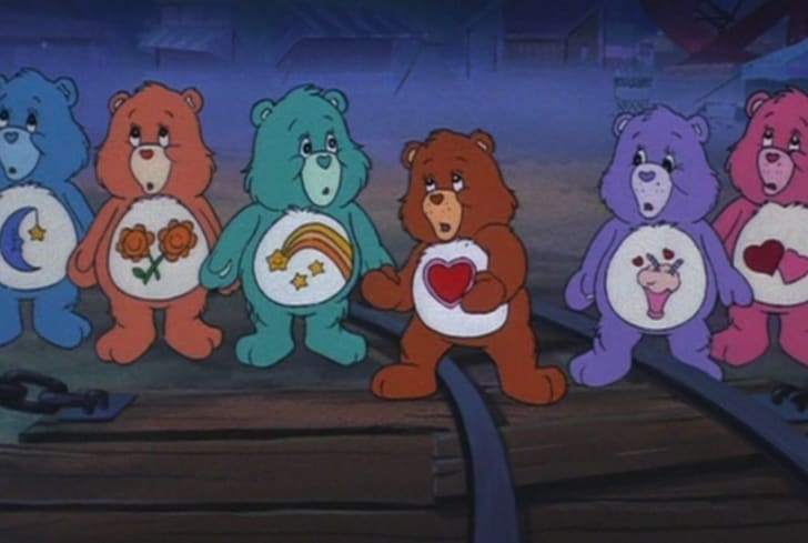 A still from 'The Care Bears Movie' (1985)
