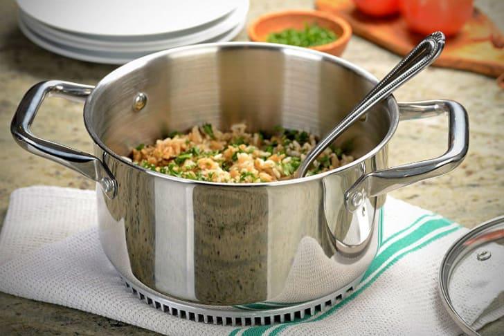 A Turbo Pot Rapid Boil Pot is pictured