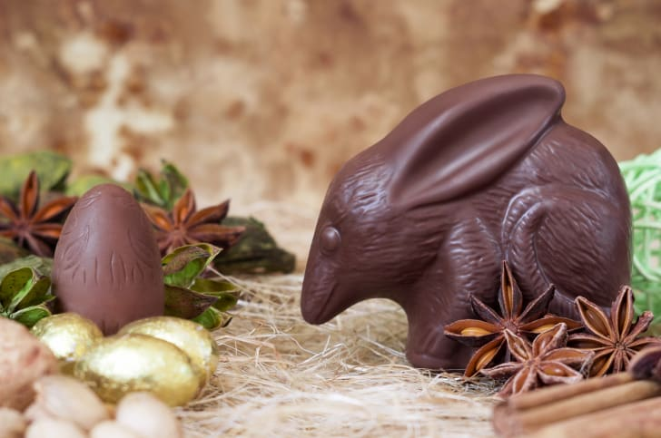 A chocolate Easter Bilby