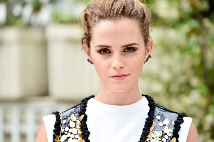 Emma Watson attends 'The Circle' Paris Photocall at Hotel Le Bristol on June 22, 2017 in Paris, France.