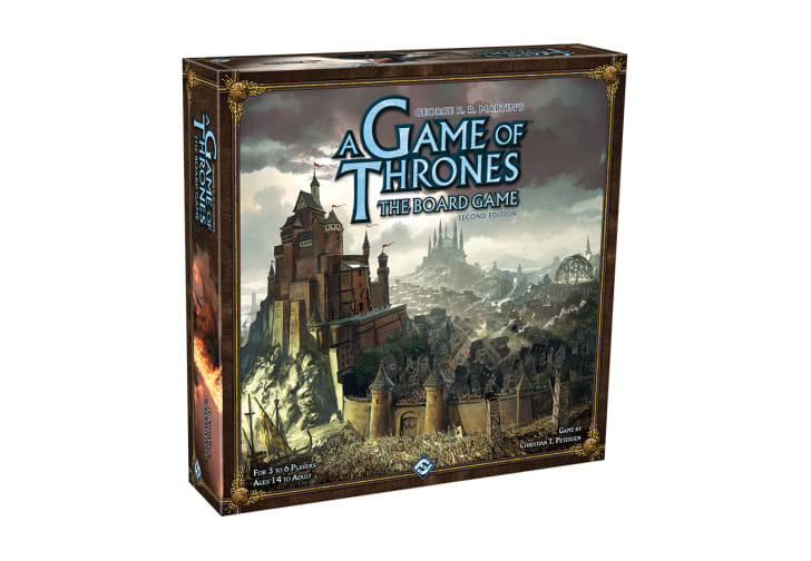 The cover of 'A Game of Thrones: The Board Game'