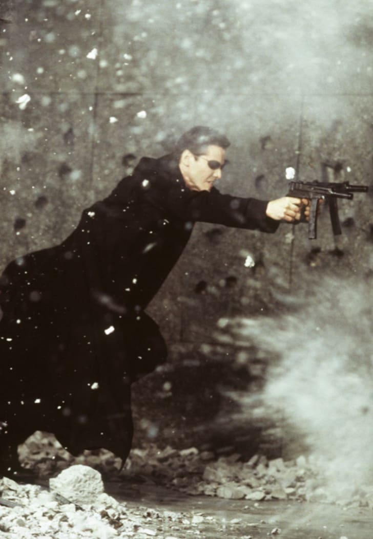 Keanu Reeves in 'The Matrix' (1999)