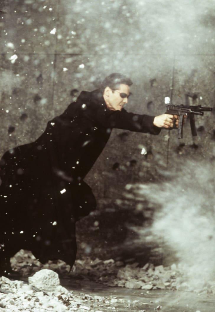 Keanu Reeves in 'The Matrix' (1999)