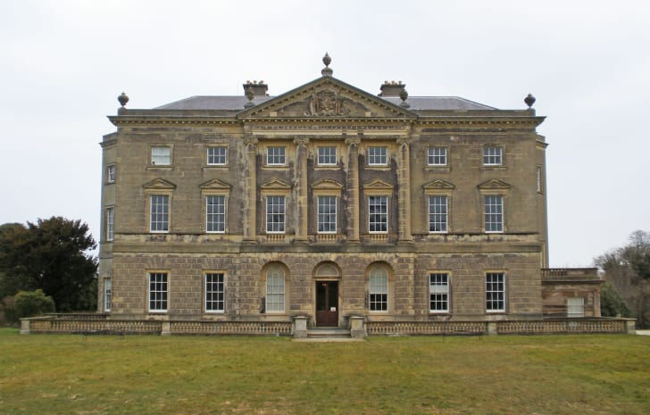 Castle Ward's exterior