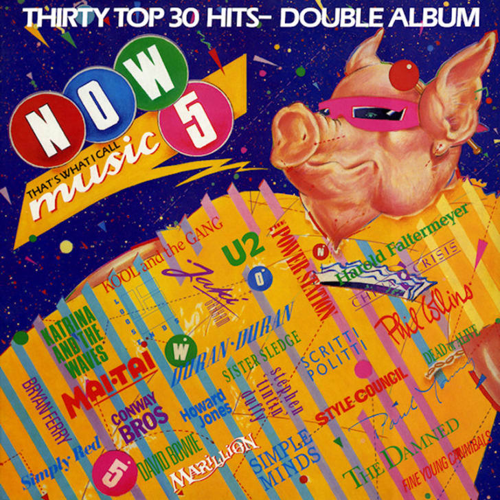 Now That's What I Call Music! 5, which was released in the U.K. in August 1985.