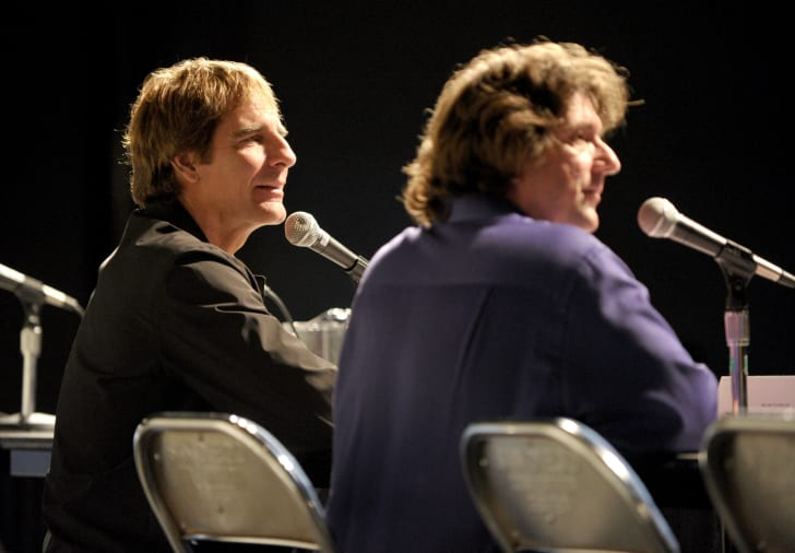 Actor Scott Bakula and Producer/Writer Craig Tomashoff attend A Quantum Leap Retrospective during 2010 Comic-Con at San Diego Convention Center on July 22, 2010 in San Diego, California
